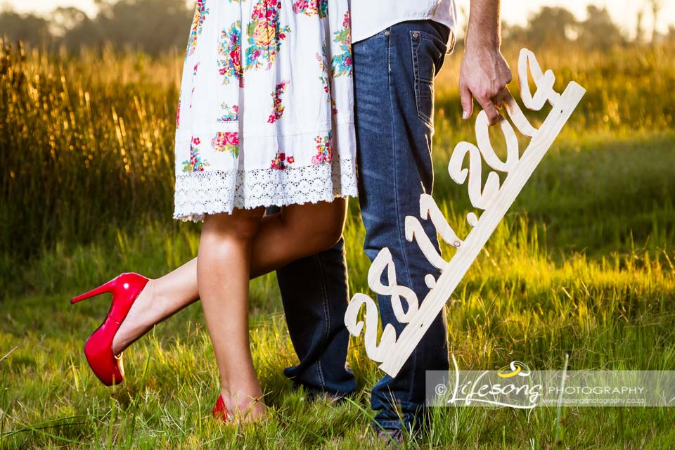 Save The Date Photo Shoot In Vanderbijlpark By Lifesong Photography